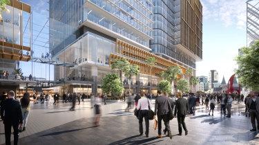 Walker Corporation's Parramatta Square development.