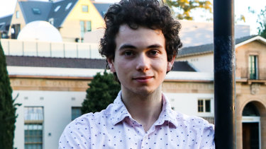 Alex Crawford topped the state in Latin Continuers and got an ATAR of 99.90 last year.