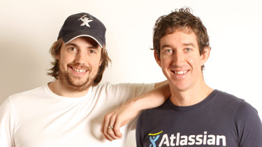 Atlassian's co-founders, Mike Cannon-Brookes and Scott Farquhar, have announced their arrival in Sydney's big league with the acquisition of Australia's most expensive houses.