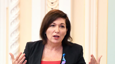 Arts Minister Leeanne Enoch said the new performing arts theatre would share amenities, such as green rooms, with QPAC.