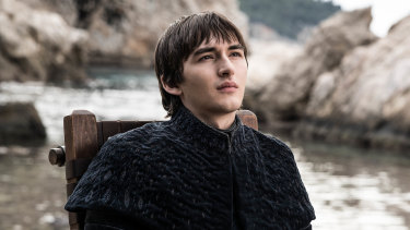 Bran the Broken in the Game of Thrones finale.