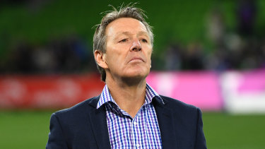 Craig Bellamy believes the Sharks are being 'condescending' in their praise of Storm