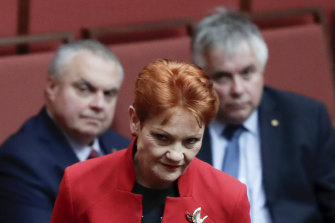 Employers and unions are trying to sway crossbench senators Pauline Hanson, Stirling Griff (left)  and Rex Patrick on industrial relations.
