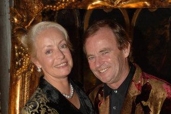 Much to celebrate: Clare and Matt Handbury.