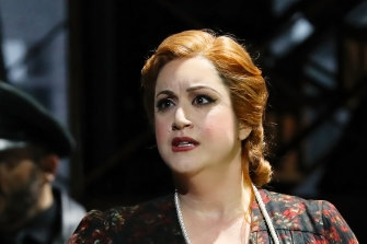 Natalie Aroyan as Odabella in Opera Australia's production ofAttila, which was cancelled this week.