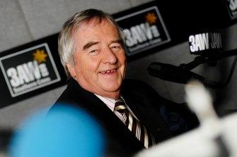 Ernie Sigley in 2006.
