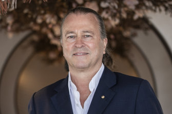 Neil Perry, the part-owner of Rockpool Group, has not been accused personally.