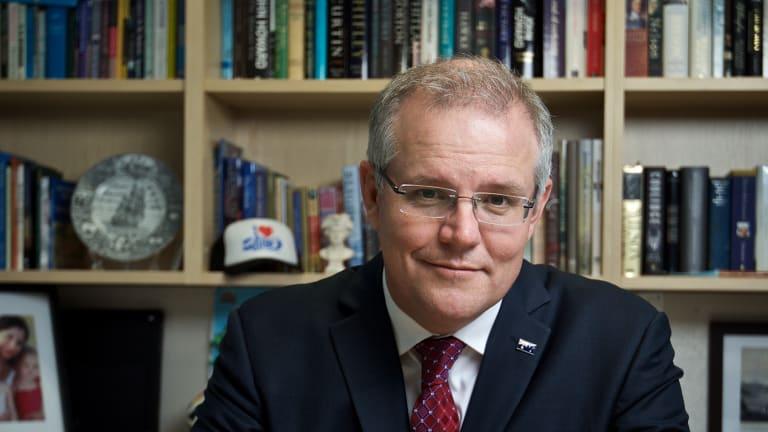 Hasil gambar untuk Australian Treasurer Scott Morrison to become next prime minister, Malcolm Turnbull ousted
