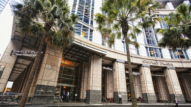 Charter Hall is eyeing off a half stake in the Chifley Tower and Plaza, Sydney
