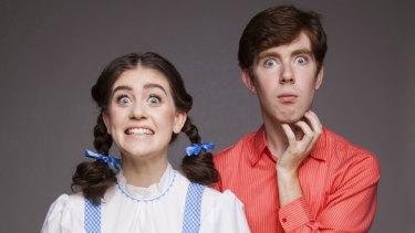 The Aspie Hour's Sophie Smyth and Ryan Smedley