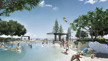 A new pool is proposed for Toondah Harbour.