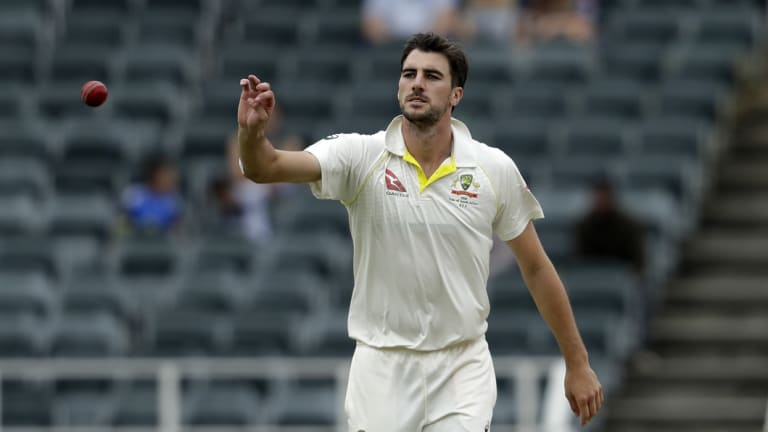 Injured: Pat Cummins will take no part in the Test series against Pakistan.