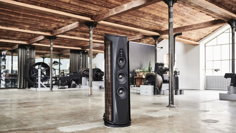 Sonus faber's modern speakers carry on the tradition of making looks just as important as function.