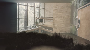 A video component explores the concept of repair through 15 Australian architectural works.