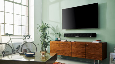 The Ambeo lends atmosphere to films and is an excellent soundbar for music.