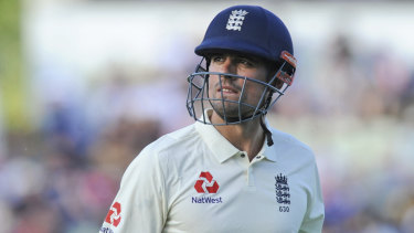 Departing: Alastair Cook has announced his retirement from international cricket.
