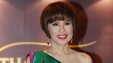 Thai Princess Ubolratana at a gala in 2010.