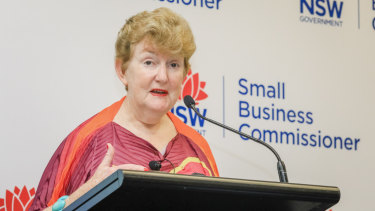 NSW small business commissioner Robyn Hobbs has expressed support for a vacancy-style tax.