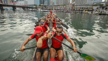 Sydney Tsunami, Competitors in the biggest Dragon Boat Racing regatta last year.