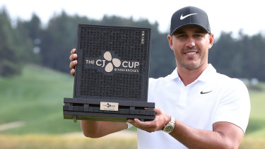 Brooks Koepka finally snares golf's No 1 ranking