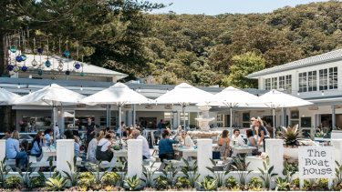 The Boathouse Hotel at Patonga is the couple's latest venture.
