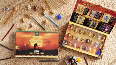 Woolworths' Lion King toys giveaway.