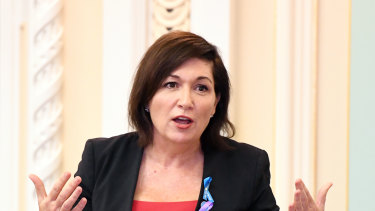 Queensland Environment Minister Leeanne Enoch.