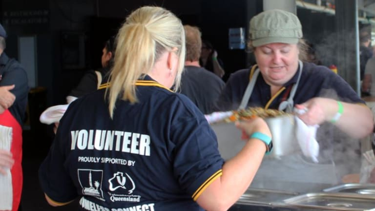 Michelle Buckley has actively volunteered since the 1990s, and currently does work with Volunteering Queensland.