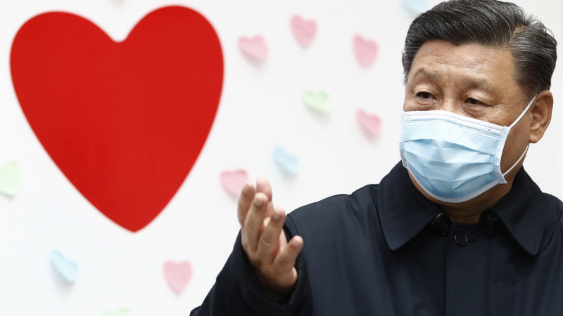 The coronavirus crisis was made in China, but no one will say it