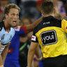 Penalties plummet as referees put whistles away