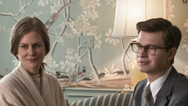 Nicole Kidman and Ansel Elgort in The Goldfinch.'