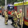 Emergency response after possible suspicious substance found in parcels in Sydney CBD