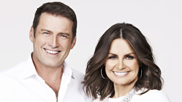 Karl Stefanovic and Lisa Wilkinson during their time as co-hosts on the Today show.