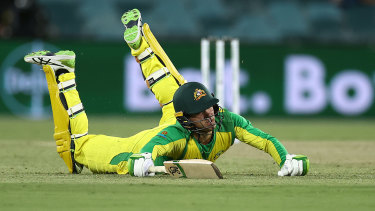 Australia lost a steady flow of wickets throughout the night.