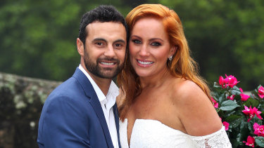 Cam and Jules from Married at First Sight.