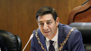 City of Perth Lord Mayor Basil Zempilas.