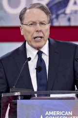 Wayne LaPierre, vice-president of the NRA.