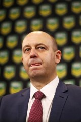 NRL CEO Todd Greenberg has publicly said he believes the salary cap system needed to be reviewed.