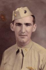 Missing in action: USMC 2nd Lieutenant John McGrath.