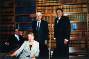 Daivid Ipp on appointment to NSW Court of Appeal, 2002.