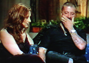 Chopper Read appearing on McFeast Live. When he talked of killing crooks he helped kill the show.