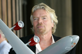 Sir Richard Branson has called for Australia to adopt a net-zero target by 2050.