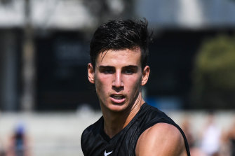 Nick Daicos is a top prospect.