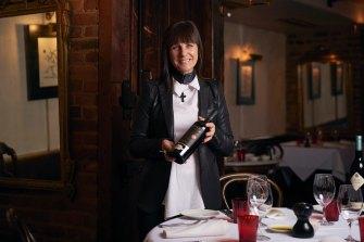Caterina Borsato, owner of Caterina's in Melbourne's CBD.