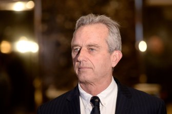 Robert F. Kennedy jnr a vaccine misinformation influencer, according to a report.