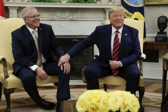 The Morrison government has strong ties with the Trump administration.