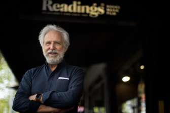 Readings managing director and sometimes parcel delivery guy Mark Rubbo.
