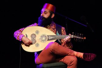 Joseph Tawadros will perform the world premiere of his Concerto for Oud and Orchestra.