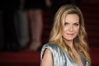 Michelle Pfeiffer, photographed in London in 2017, will star in the adaptation of deWitt's most recent novel, French Exit.