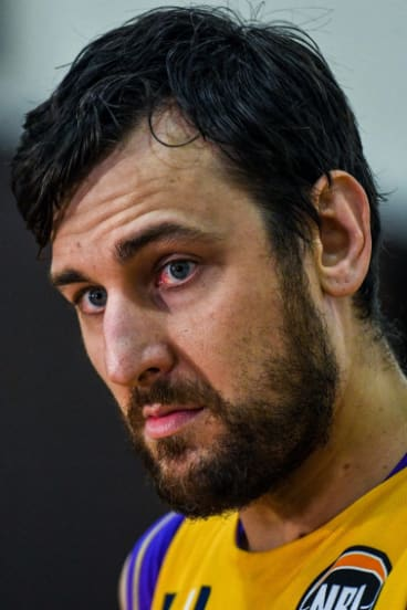 Andrew Bogut is already making waves in the NBL.